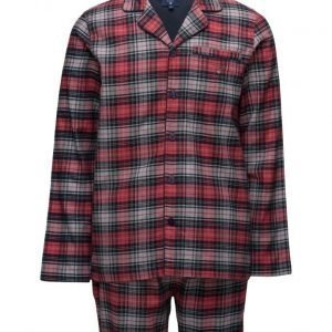 GANT Pajama Set Flannel Bleecker Check pyjama