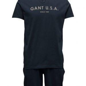 GANT Pajama Set Jersey V-Neck Gant Usa pyjama