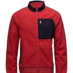 GANT R1. Contrast Fleece Jacket kevyt takki