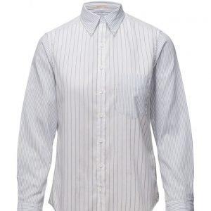GANT R1. Windblown Oxford Patchwork Obd pitkähihainen paita