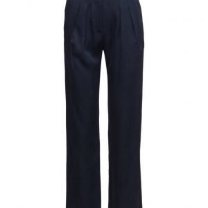 GANT R2. Luxe Pants leveälahkeiset housut