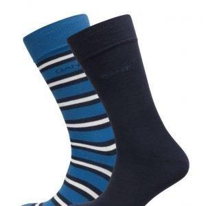 GANT Solid & Striped Socks Gift Box nilkkasukat