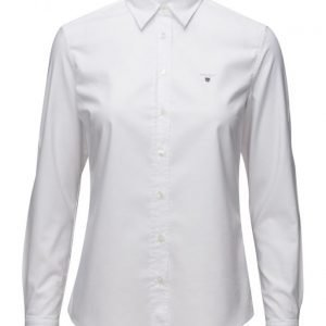 GANT Stretch Oxford Solid pitkähihainen paita