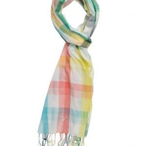 GANT Textured Bright Check Scarf huivi