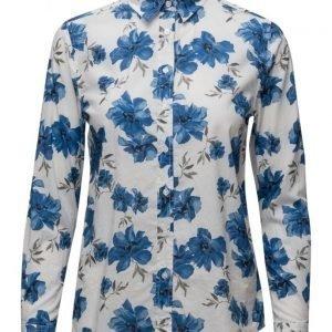 GANT Voile Island Flower Shirt pitkähihainen paita
