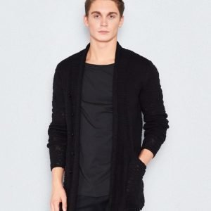 Gabba Luther Cardi Knit Black