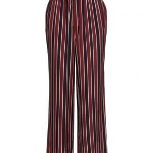 Ganni Donaldson Silk leveälahkeiset housut