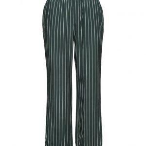 Ganni Elmira Silk leveälahkeiset housut