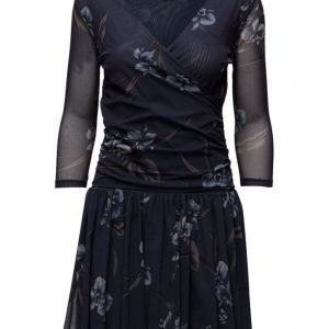 Ganni Etsu Mesh lyhyt mekko