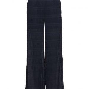 Ganni Hall Pleat leveälahkeiset housut