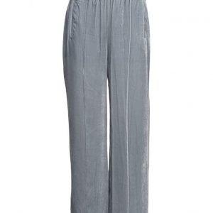 Ganni Hayden Velvet leveälahkeiset housut