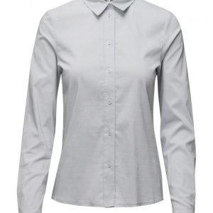 Ganni Misaki Cotton pitkähihainen paita