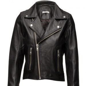 Ganni Passion Biker Jacket nahkatakki