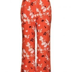 Ganni Sachi Silk leveälahkeiset housut