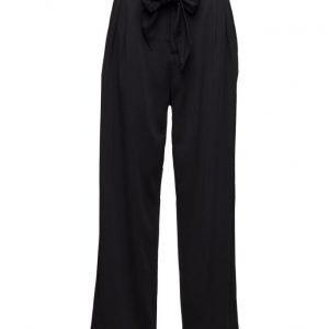 Ganni White Tailor leveälahkeiset housut