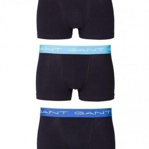 Gant 3-Pack Trunk Cotton Stretch Bokserit Black