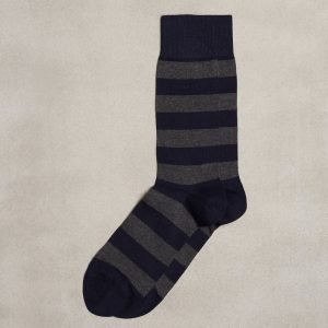 Gant Barstripe Socks Sukat Charcoal