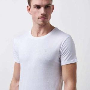 Gant Basic 2p T-shirts CN 110 White