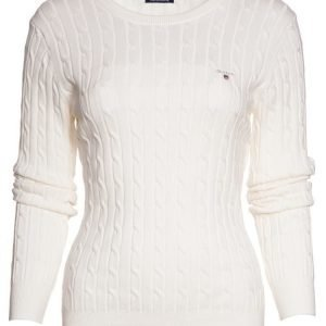 Gant Cable Knit O-Neck Neule