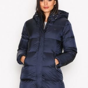Gant Classic Long Down Jacket Untuvatakki Navy