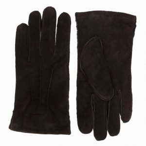 Gant Classic Suede Gloves Mokkakäsineet Dark Brown