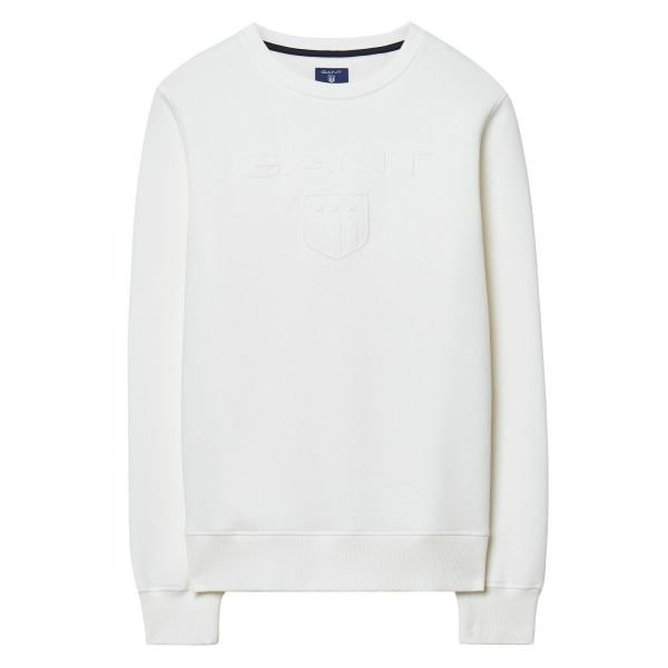 Gant Embossed C-Neck Collegepusero