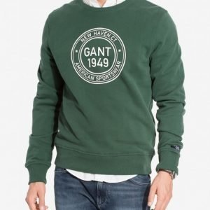 Gant Gant 1949 C-Neck Sweat Pusero Green