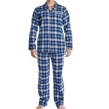Gant Gift Box Cotton Flannel Pyjama Set Dark Sky