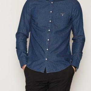 Gant Indigo Shirt Kauluspaita Indigo
