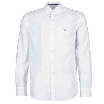 Gant PLAIN BROADCLOTH REGULAR pitkähihainen paitapusero