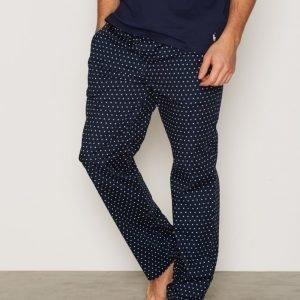 Gant Pajama Pants Stars Logo Pyjamahousut Navy