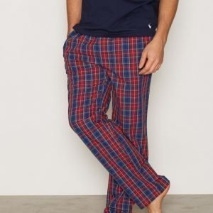 Gant Pajama Pants Yale Check Pyjamahousut Red