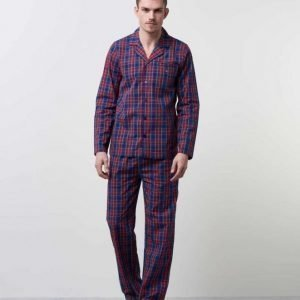 Gant Pajama Set Yale Check 610 Red