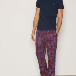 Gant Pajama Set Yale Check Pyjamasetti Red