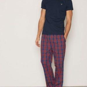Gant Pajama Set Yale Check Pyjamasetti Red