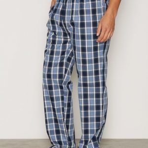 Gant Pyjama Pant Gant Check Logo Pyjamahousut Nightfall