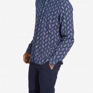 Gant Rugger Mikado Oxford Shirt Kauluspaita Indigo