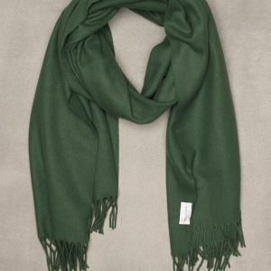Gant Rugger R. Big Wool Scarf Kaulahuivi Green