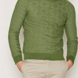 Gant Rugger R. Texture Crew Pusero Green