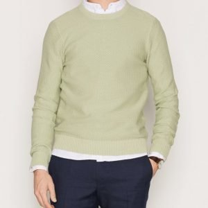 Gant Rugger R1. Solid Textured Crew Pusero Green
