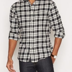 Gant Rugger R2 Brooklyn Twill Shirt Kauluspaita Black