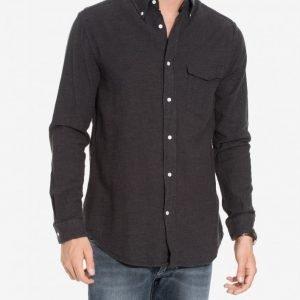 Gant Rugger R2 Plain Weave Shirt Kauluspaita Charcoal