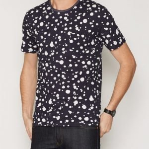 Gant Rugger R2. The Printed Organic Dot Tee T-paita Blue