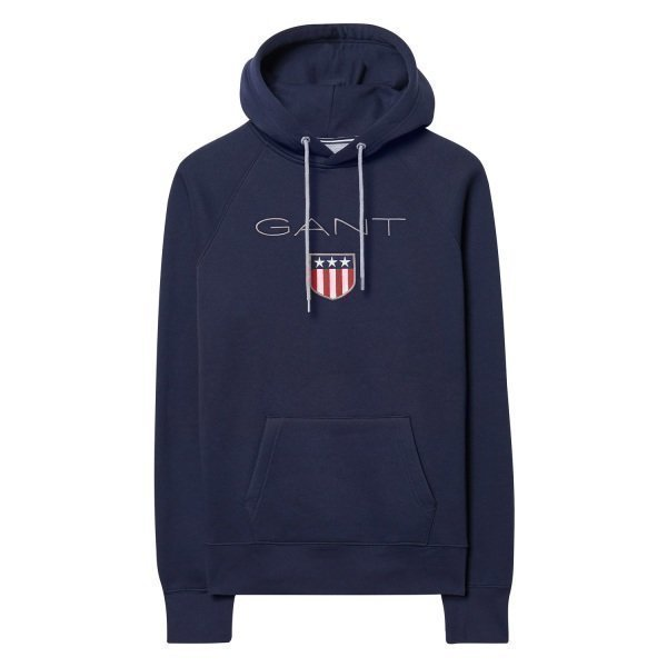 Gant Shield Sweat Hood Miesten Collegehuppari