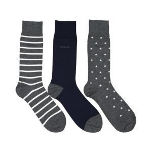 Gant Stars & Stripes Sukat 3-Pack