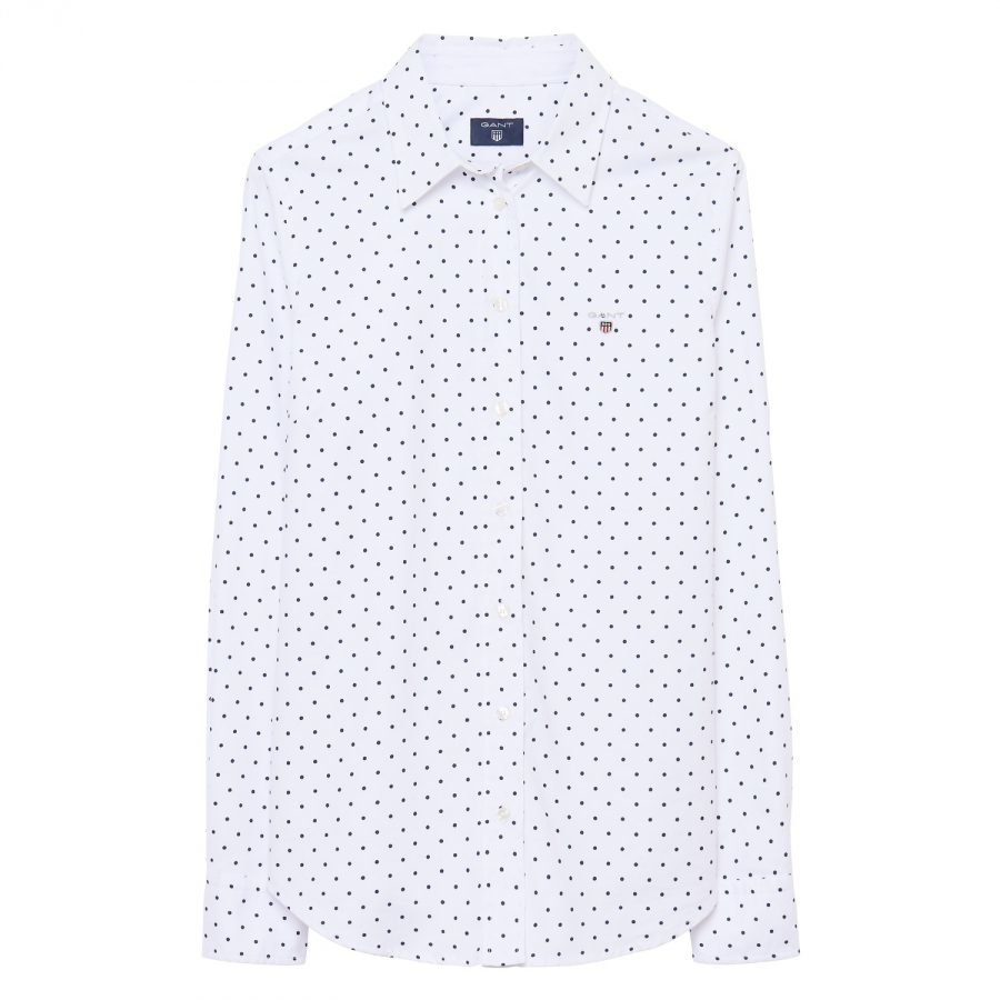 Gant Stretch Oxford Printed Dot Naisten Paitapusero
