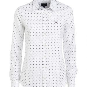 Gant Stretch Oxford Printed Dot Paitapusero