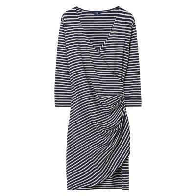 Gant Striped Wrapdress Lyhyt Trikoomekko