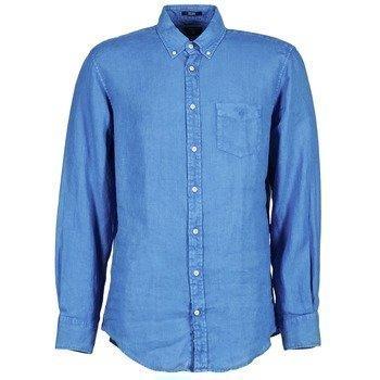 Gant THE LINEN SHIRT pitkähihainen paitapusero
