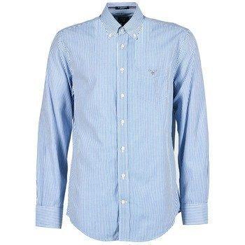 Gant THE POPLIN BANKER STRIPE pitkähihainen paitapusero
